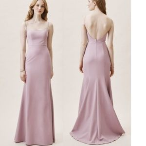 BHLDN Lyle Gown Dress Lilac